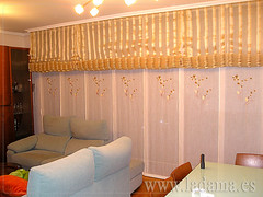 "Decoración para Salones Clásicos: Cortinas con Dobles Cortinas y Bandos, Tapicerías, Paneles Japoneses, Estores... • <a style=""font-size:0.8em;"" href=""http://www.flickr.com/photos/67662386@N08/6476314805/"" target=""_blank"">View on Flickr</a>"