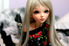 Am I cute now?! (Sara-Meow) Tags: doll bjd fairyland aria msd mnf andreja faceup minifee mnfchloe minifeechloe