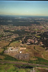 Aerial view of land near the University of Newcastle, Australia - 1992 (UON Library,University of Newcastle, Australia) Tags: aerialview australia nsw newcastleuniversity theuniversityofnewcastle b1636692713 uonphotographeruon