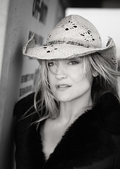 She Wore Her Cowboy Hat For This One (TJ Scott) Tags: portrait cowboyhat countrygirl victoriapratt tjscott