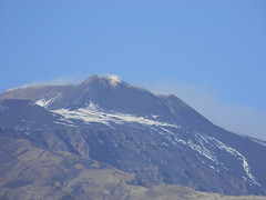Etna in a rather quiescent moment, 12 December 2011 (etnaboris) Tags: winter italy mountain home volcano sicily etna 2011 trecastagni summitcraters newsoutheastcrater