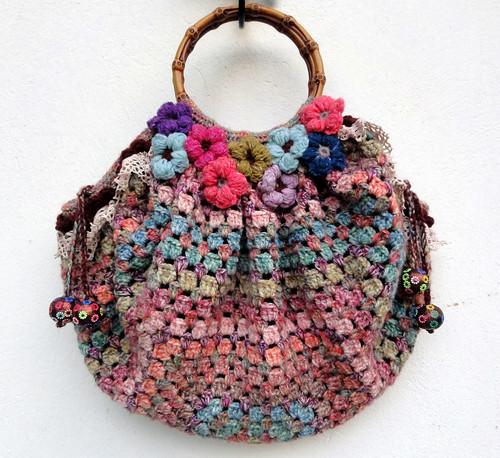 Mix and Match Crochet Bag