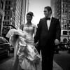 The Newlyweds (Joel Levin Photography) Tags: street wedding portrait urban blackandwhite bw usa philadelphia square pretty dress candid streetphotography marriage squareformat newlyweds allrightsreserved iphone mobilephotography thedefiningtouch iphoneography deftouch editedanduploadedoniphone ©joellevin