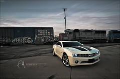 #44 Classy n' Sporty (Abdulla Attamimi Photos [@AbdullaAmm]) Tags: white chevrolet sport train photography graffiti photo nikon photos photographic camaro chevy 2008 sporty 2010 classy  abdullah amm    d90  tamimi     attamimi      desamm altamimialtamimi    abdullaammnet abdullaammcom