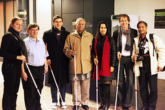 Prof. Yunus with and the Academia group visiting Dialogue in the Dark Vienna (Dialogue-in-the-Dark) Tags: vienna diversity international did visitors dialogue yunus socialentrepreneurship dialogimdunkeln dialogueinthedark globalsocialbusinesssummit didinternational