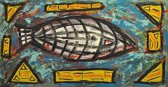fish-zeppelin (divedintopaint) Tags: ferrara astratto quadri espressionismo dived informale neoprimitivismo