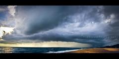 Storm Ahead (Pradeepa Pandiyan) Tags: sea sky india storm beach rain weather clouds photography view wind horizon huge chennai tamilnadu ecr violent upwind stromy skyphotography stromclouds overcasts