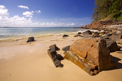 Noosa Park beach.