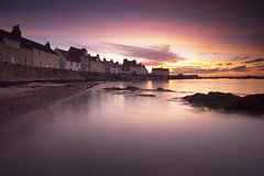 Coastal life (Stuart Stevenson) Tags: uk morning light sea rock thanks sunrise canon photography for bay scotland intense fishing long exposure village angle fife wide calm east colourful viewing 1740 pittenweem transient clydevalley neuk canon5dmkii stuartstevenson stuartstevenson