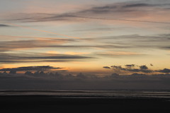 lonely with you (Dreemrr) Tags: sunset sea sky clouds dusk southport