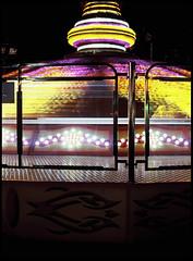 Luna Park 06 (ZoSo74) Tags: park mamiya film night analog lights 645 colours colore fuji slide games dia velvia genoa genova lunapark luci notte giochi 1000s 80mm 100f pellicola f19 analogico foce sekor autaut