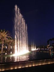 Fanfare at San Pedro Gateway Fountains