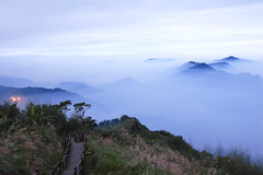 (michaelrpf) Tags: travel mountain landscape tour taiwan resort   alishan seaofclouds    chiayialishan