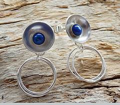 Sterling Silver Earrings. (Kaila_jewellery) Tags: closeup silver daylight photo jewelry earrings macrophoto gemstone sterlingsilver panasoniclumix