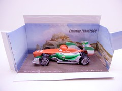 DISNEY CARS 2 COLLECT AND CONNECT PUZZLE #4 PORTO CORSA FRANCESCO EXCLUSIVE (2) (jadafiend) Tags: scale kids toys model disney puzzle pixar remotecontrol collectors adults variation francesco launcher cars2 crewchief lightningmcqueen lewishamilton targetexclusive kmartexclusive collectandconnect raoulcaroule jeffgorvette johnlassetire carlomaserati piniontanaka carlavelosocrewchief mcqueenalive denisebeam meldorado pitcrewfillmore francescoscrewchief