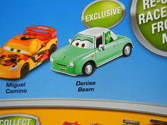 disney cars 2 target exclusive denise beam 4 pack (3) (jadafiend) Tags: scale kids toys model disney puzzle pixar remotecontrol collectors adults variation francesco launcher cars2 crewchief lightningmcqueen lewishamilton targetexclusive kmartexclusive collectandconnect raoulcaroule jeffgorvette johnlassetire carlomaserati piniontanaka carlavelosocrewchief mcqueenalive denisebeam meldorado pitcrewfillmore francescoscrewchief
