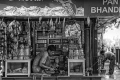 Convenience store, Rabindra Sarovar Metro (Timothy Neesam (GumshoePhotos)) Tags: bw white black store soft metro coke chips pan local cocacola variety kolkata gumshoe calcutta rabindra sarovar consumables
