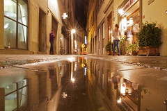 acquerello (maybemaq) Tags: street windows italy holiday reflection tourism window water night hotel mirror florence alley strada italia doors floor camino geometry tourist double structure symmetry line september pharmacy tuscany motorcycle watercolour firenze curve toscana reflexions turismo piaggio waterreflection farmacia acquerello wetreflection mbius brushwork maybemaq roadtorome stradaperroma blinkagain roadtoroma