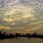 Sunset on the Saigon River