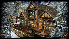 House and Home () Tags: winter portrait house home landscape avatar sl secondlife willa winterscape gor gorean ironhall willachauveau