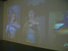 Sandra de la Loza and Joseph Santarromana: Action Portraits (2011)
