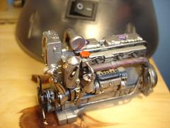 Revell Routemaster engine (aten_akhenaten) Tags: bus london model engine routemaster kit revell rml