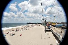 (kaleemurrin) Tags: summer beach newjersey fisheye boardwalk jerseyshore seasideheights