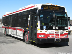 Toronto Transit Commission #1716 (vb5215's Transportation Gallery) Tags: toronto ttc transit orion ng commission 2009 vii hev