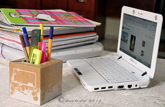 studing  [ 8 \ 365 ] (ミ♥ミ ekram) Tags: green pen colours laptop room lap link studing غرفة الوان غرفتي ساعه وردي وقت اخضر دراسة ازرق pincle لاب لحظات لابتوب زهري دقيقة