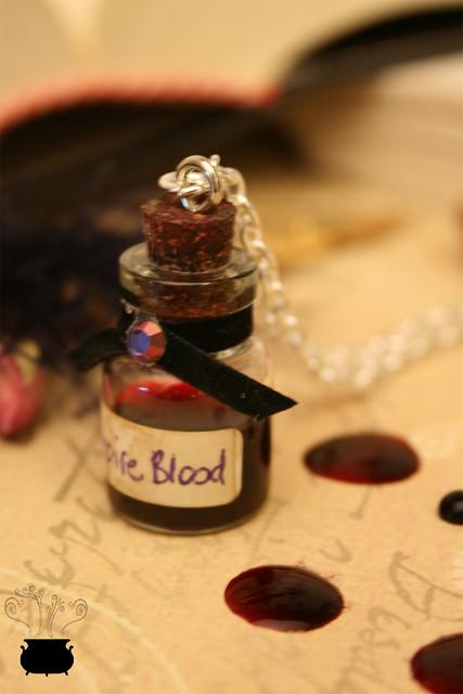 Blood Vampire Necklace.