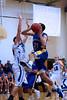 12-01 Bsktbll - Whitinsville Christian School Crusaders vs Hopedale Blue Raiders -  450