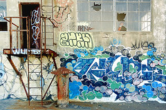 mfoner (thesaltr) Tags: sf sanfrancisco streetart art abandoned graffiti bayarea nsf mfoner b006 thesaltr