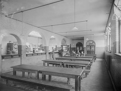 Dining Room, Elise Sandes Soldiers Home, Curragh Camp (National Library of Ireland on The Commons) Tags: ireland sunday july belfast vendingmachine soldiers 16 1910s eason oxo 1916 glassnegative kildare suppers refectory curragh leinster coffeeroom soldiershome nationallibraryofireland curraghcamp easonson easoncollection marshsbiscuits sandescentresforsoldiersandairmen elisesandes