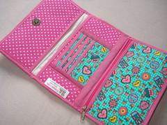 Carteira Aberta (Fabiana Lopes FEITO A MO) Tags: de carteira notas patchwork tecido