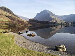 A northern lake (Lune Rambler) Tags: beauty reflections peace farming calm fells agriculture soe thelakes buttermere lakedistrictnationalpark borrowdale thelakedistrict newlandsvalley honisterpass northernlakes platinumphoto platinumheartaward oltusfotos lunerambler fuji3rdmarch