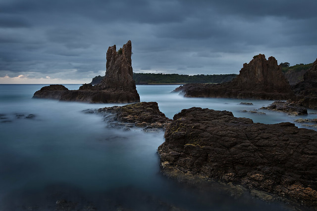 Dawn at Cathedral Rocks