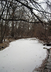 Minehaha Creek (cmykevin) Tags: bridge winter snow cold ice minnesota river frozen minneapolis minnehaha minnehahacreek