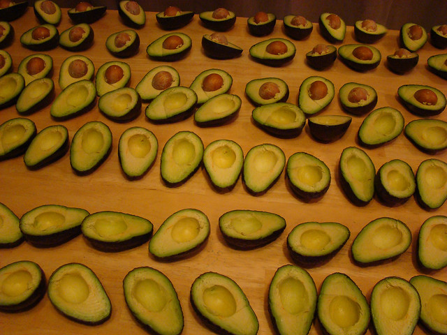 Training Day: 70 Avocados in the Half Shell