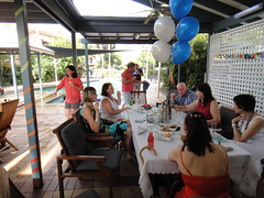 Birthday party (sccart) Tags: brisbane birthdayparty brisvegas bulimba iwish kidsinthepool saturdayafternoongame todds50 ferrariinoxford ofcricket aussiefloater