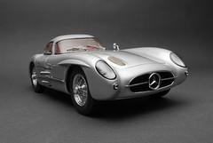 1955 - Mercedes-Benz 300SLR Uhlenhaut Coupe (Maarten O.) Tags: slr mercedesbenz 118 cmc diecast