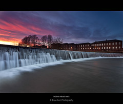 Holme Head Weir (.Brian Kerr Photography.) Tags: sunset carlisle weir dentonholme holmeheadweir