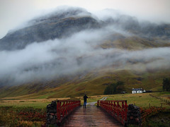 LANDSCAPE PHOTOGRAPHER(under the weather) (kenny barker) Tags: bridge winter sky mist mountains fog clouds landscape scotland day whitehouse glencoe saariysqualitypictures capturethefinest olympusep1 kennybarker