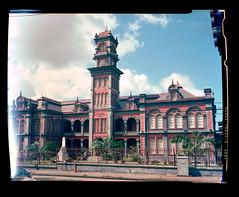 Queens Royal College (michaelraymondclarke) Tags: kodak 4x5 160vc graflexcrownview