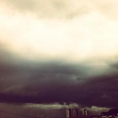 # Sky rain (Carlos Fachini ™) Tags: brazil rain brasil clouds square photography sãopaulo chuva céu squareformat brannan paulo são freguesiadoó iphoneography instagramapp uploaded:by=instagram foursquare:venue=4d827ab4674c1456f8ade230