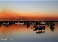 The mooring of yanbu (Ateyah J. Hujaili) Tags: morning sea canon saudi arabia mooring yanbu 600d    ateyah
