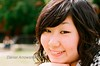 Nao 尚 (The_Lyricist) Tags: park camera uk england west cute art girl smile closeup photography japanese asahi pentax britain yorkshire great leeds stjohns nostalgia playful nao sv pentaxart 尚 ちゃん