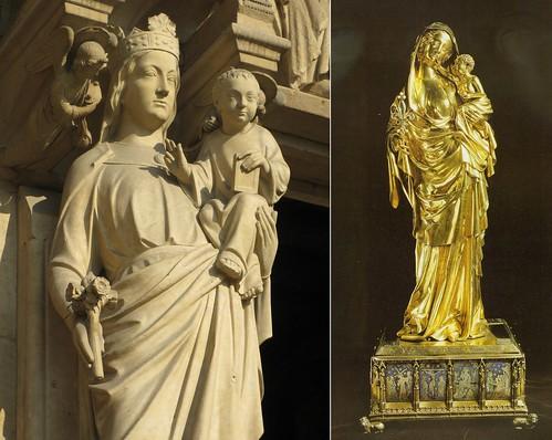 Virgin Of Jeanne Devreux Virgin from Notre Dame...