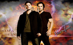 "Supernatural Sam & Dean Winchester ""Electrified"" (Mystic Soul Fan Art) Tags: wallpaper art fan sam dean soul winchester mystic supernatural electrified"
