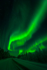 Aurora Borealis (Patrick Forsblom) Tags: winter snow scenery lapland talvi northernlights
