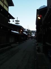 飛騨高山の街並み。の写真